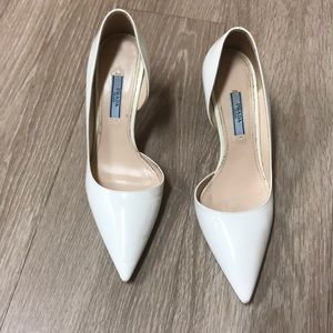 Prada patent leather pointed heels